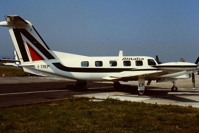 I-TREP Alitalia Flying School Piper PA-42-720 Cheyenne IIIA  @ Aeroporto di Verona © Piti Spotter Club Verona