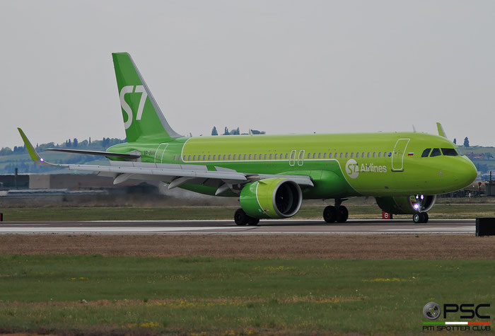 VP-BVH  A320-271N  9508  S7 Airlines  @ Aeroporto di Verona 2021 © Piti Spotter Club Verona
