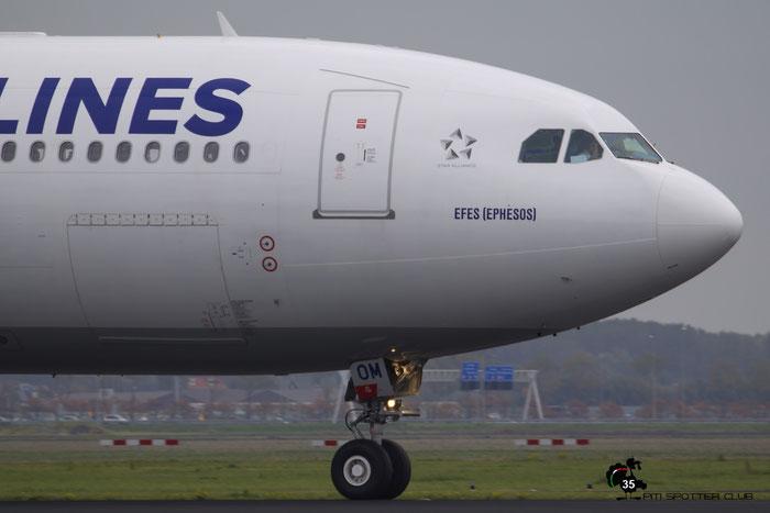 TC-JOM A330-302E 1499 Turkish Airlines - THY Türk Hava Yollari @ Amsterdam Airport 24.10.2015 © Piti Spotter Club Verona