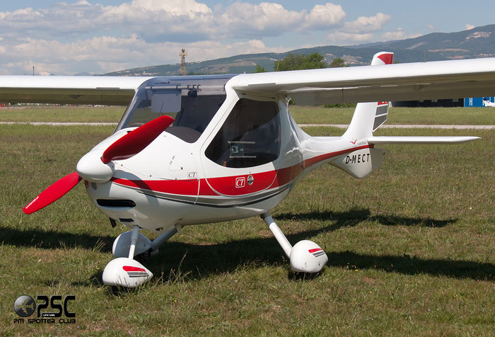 D-MECT - Flight Design CT, Light Aircraft @ Aeroporto Verona Boscomantico © Piti Spotter Club Verona