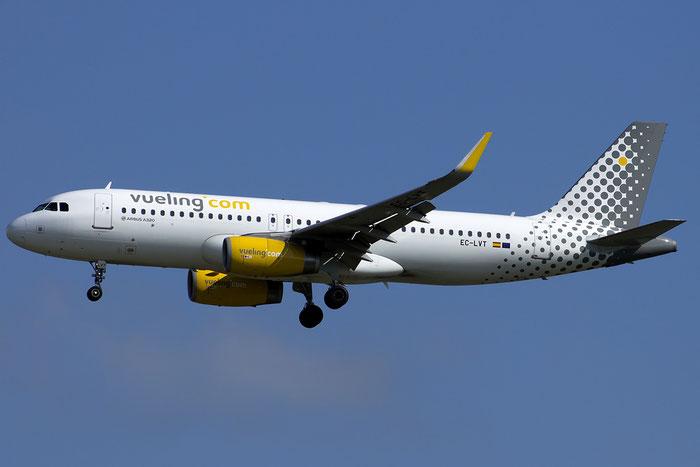 EC-LVT A320-232 5612 Vueling Airlines @ Venezia Airport 14.08.2014 © Piti Spotter Club Verona