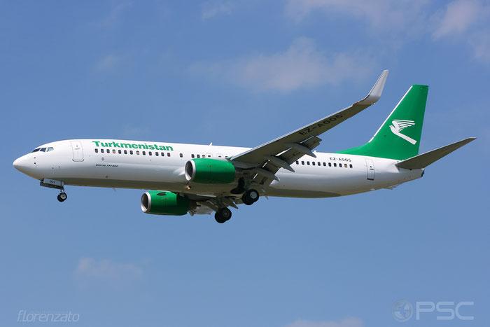 EZ-A005 B737-82K 36089/2233 Turkmenistan Airlines @ Frankfurt Airport 2009 © Piti Spotter Club Verona