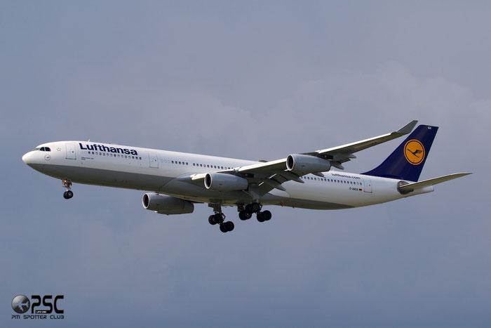 D-AIGX A340-313X 354 Lufthansa @ Frankfurt Airport  25.07.2014 © Piti Spotter Club Verona