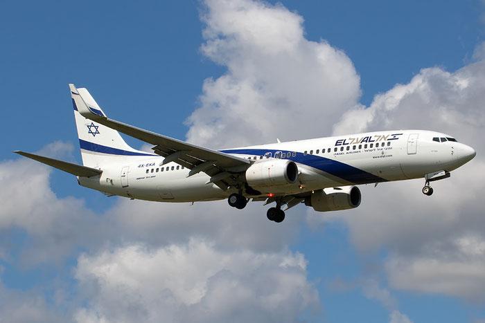 4X-EKA B737-858 29957/204 El Al Israel Airlines @ Aeroporto di Verona 17.04.2017  © Piti Spotter Club Verona