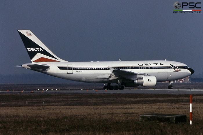 N820PA A310-324ET 457 Delta Air Lines © Piti Spotter Club Verona