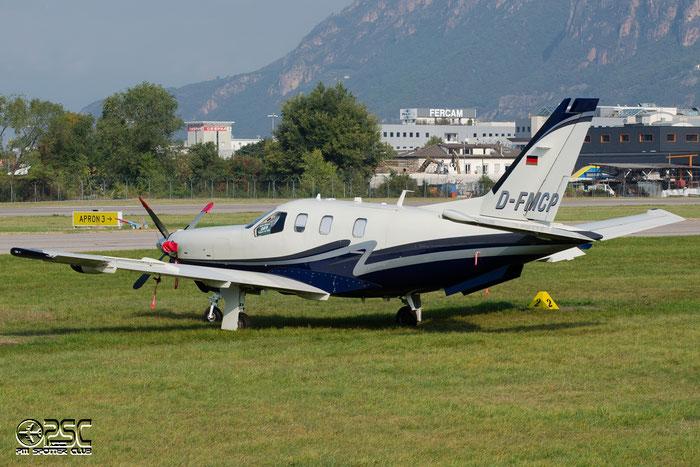 D-FMCP - Private - Socata TBM.700 @ Aeroporto di Bolzano © Piti Spotter Club Verona