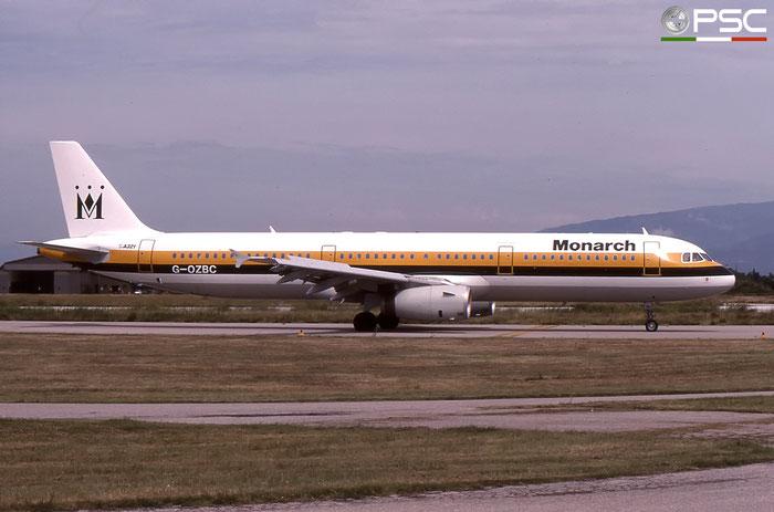 G-OZBC A321-231 633 Monarch Airlines © 2018 courtesy of Marco Ceschi - Piti Spotter Club Verona