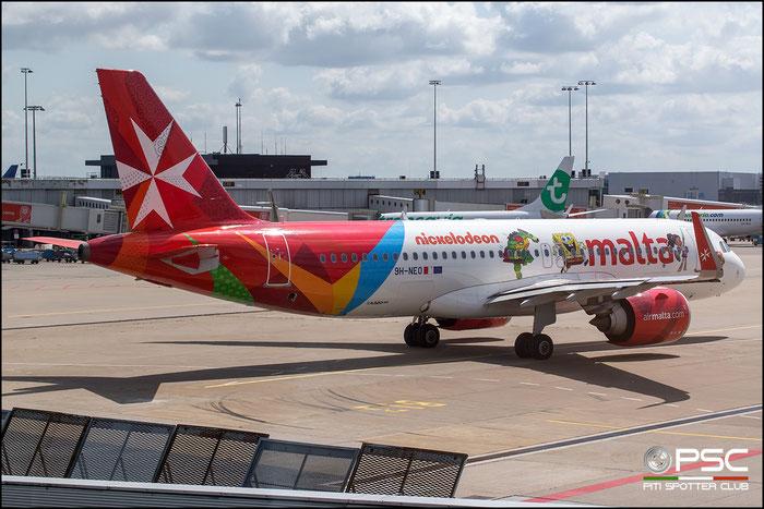 9H-NEO  A320-251N  7875  Air Malta  @ Amsterdam 07.2019 © Piti Spotter Club Verona