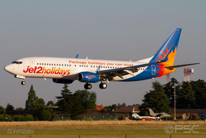 G-JZBG B737-800 63164/6756 Jet2 @ Aeroporto di Verona 30.06.2018  © Piti Spotter Club Verona