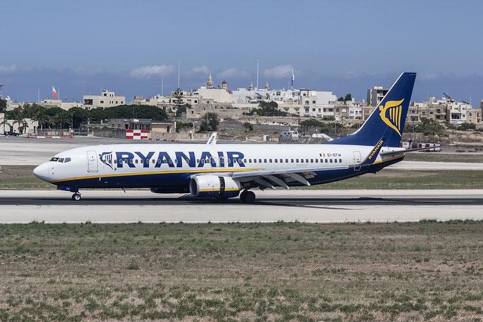 EI-EFW B737-8AS 35018/3078 Ryanair @ Malta Airport 08.2015 © Piti Spotter Club Verona