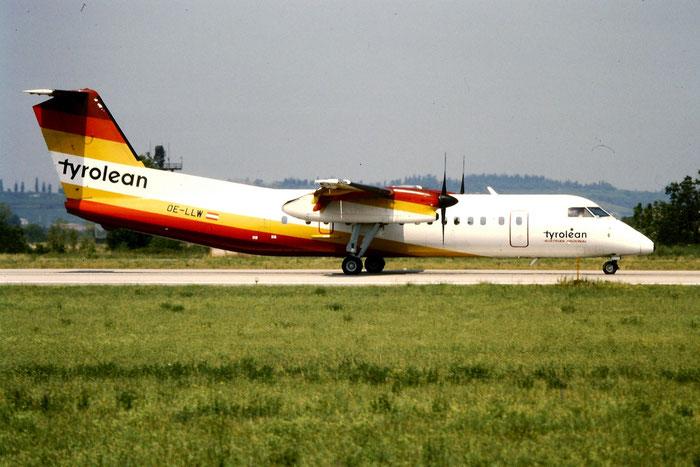 OE-LLW  DHC-8-311  309  Tyrolean Airways  @ Aeroporto di Verona © Piti Spotter Club Verona