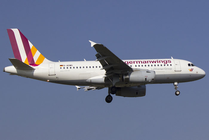D-AGWG A319-132 3193 Germanwings @ Bologna Airport 14.03.2014 © Piti Spotter Club Verona