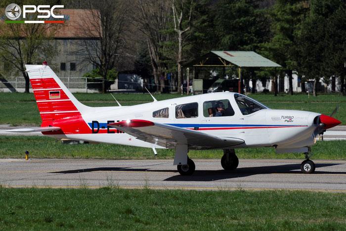 D-EMFT. Piper PA-28R-201T Turbo Arrow III @ Aeroporto di Bolzano © Piti Spotter Club Verona