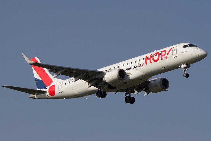 F-HBLG ERJ190STD 19000254 HOP! @ Bologna Airport 14.03.2014 © Piti Spotter Club Verona