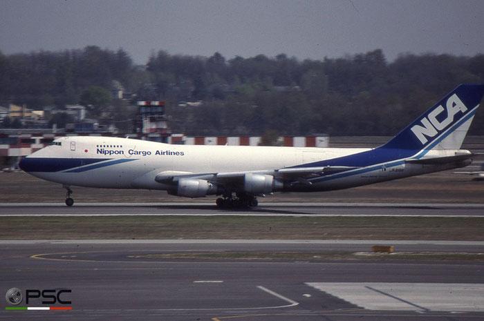 JA8188 B747-281F 23919/689 NCA - Nippon Cargo Airlines © 2018 courtesy of Marco Ceschi - Piti Spotter Club Verona