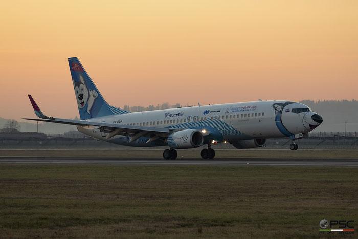 VQ-BDN B737-8K5 32905/1046 NordStar Airlines @ Aeroporto di Verona 05.01.2019  © Piti Spotter Club Verona