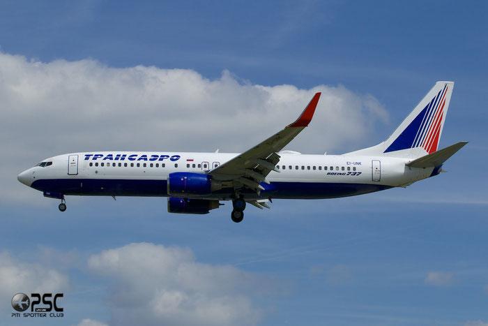 EI-UNK B737-86J 36119/3750 Transaero Airlines @ London Heathrow Airport 12.06.2014 © Piti Spotter Club Verona
