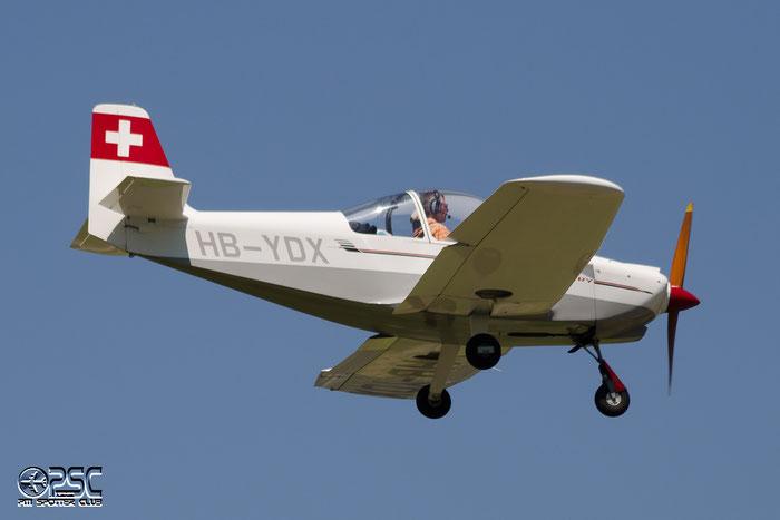HB-YDX Braendli BX-2 Cherry BX2 57 Roger Braendli @ Aeroporto di Bolzano © Piti Spotter Club Verona