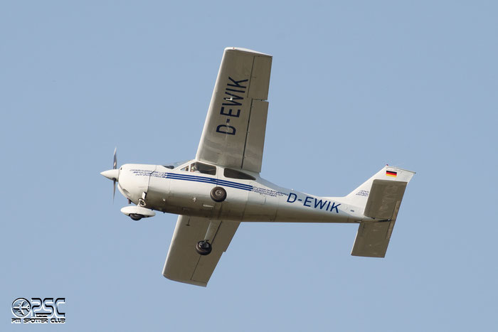 D-EWIK Cessna 177B Cardinal C177 17702091 @ Aeroporto di Bolzano © Piti Spotter Club Verona
