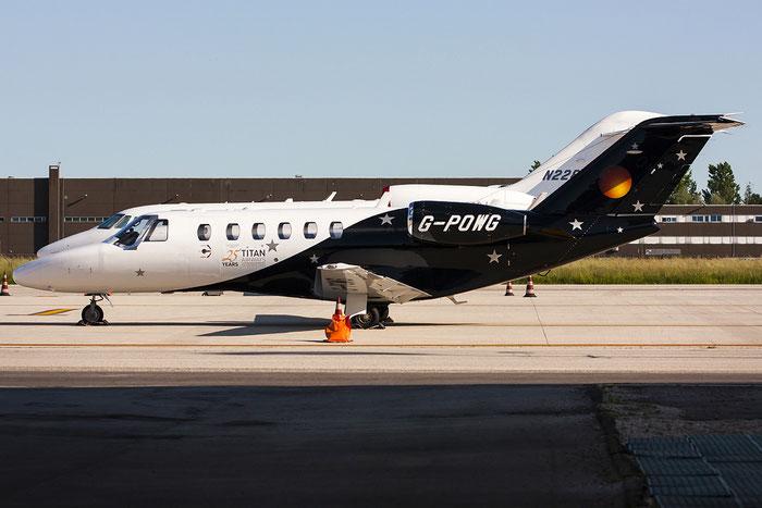 G-POWG Ce525A (CJ2+) 525A-0485 Titan Airways Executive @ Venezia Airport 13.05.2013 © Piti Spotter Club Verona
