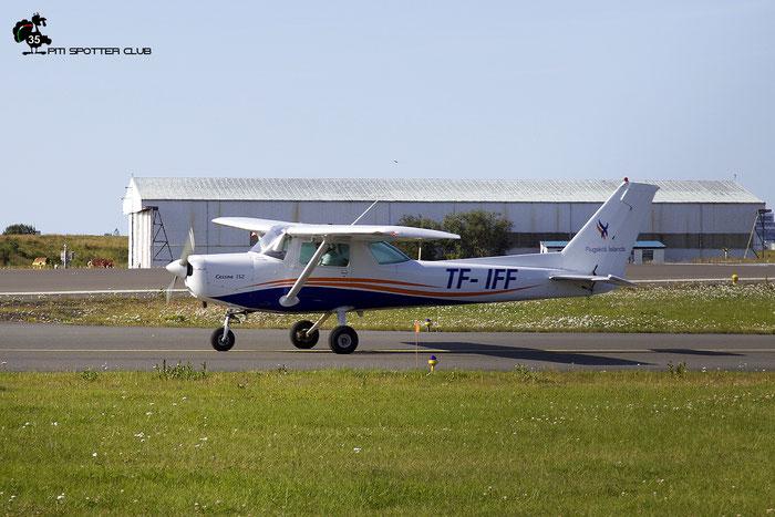 TF-IFF Cessna 152 (152-83677) @ Reykjavik Airport 08.2019 © Piti Spotter Club Verona