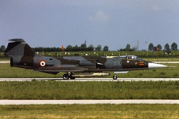 MM6916  5-10 (4-03 / 9)   F-104S-ASA  1216 @ Aeroporto di Verona   © Piti Spotter Club Verona