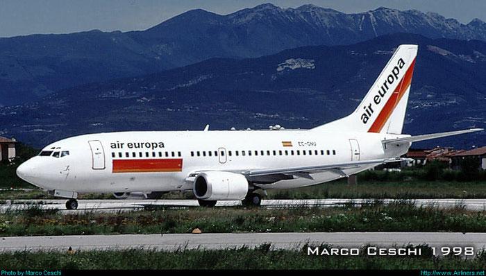 EC-GNU  B737-36Q  28660/2883  Air Europa  @ Aeroporto di Verona © Piti Spotter Club Verona
