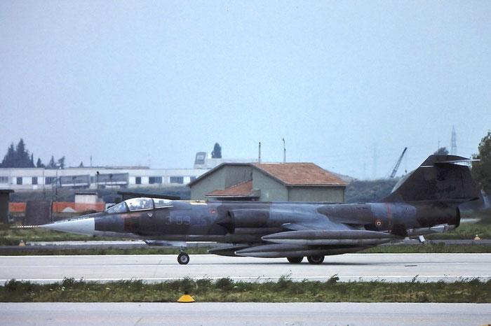 Gli F-104 del Terzo Stormo: 3-53 -  @ Aeroporto di Verona   © Piti Spotter Club Verona