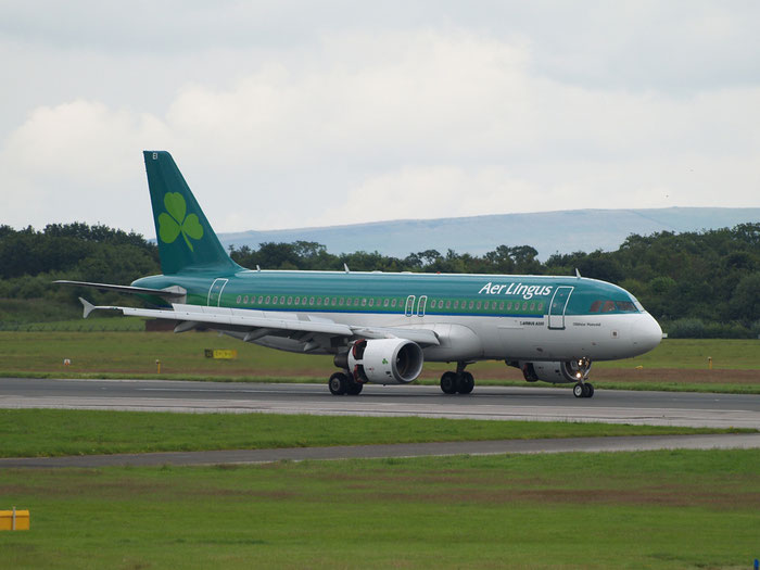 EI-DEI A320-214 2374 Aer Lingus @ Manchester Airport 320.07.2012  © Piti Spotter Club Verona