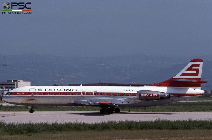 OY-STF SE210-10B3 257/258 @ Aeroporto di Verona © Piti Spotter Club Verona