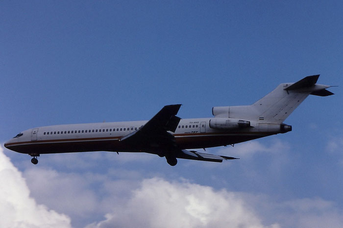 YU-AKO  B727-276  20951/1101  Aviogenex  @ Aeroporto di Verona © Piti Spotter Club Verona