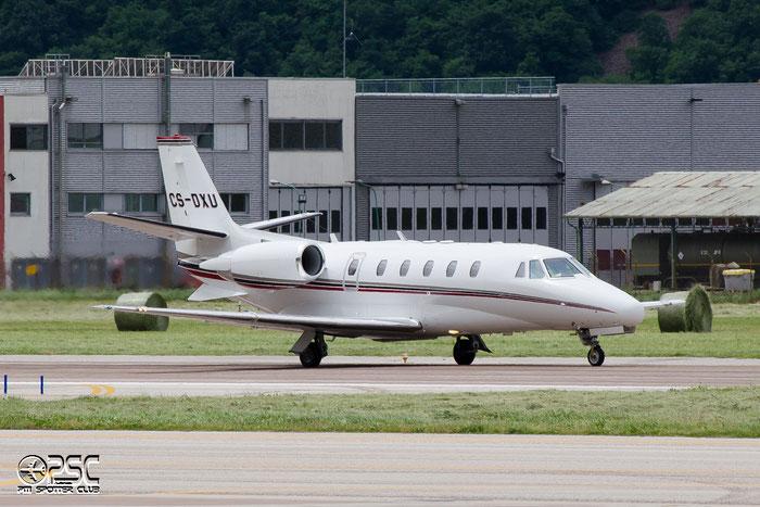 CS-DXU Ce560XLS 560-5775 NetJets Europe @ Aeroporto di Bolzano © Piti Spotter Club Verona