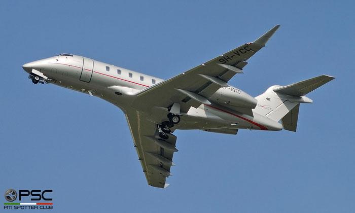 9H-VCC  CL-350  20535  VistaJet Malta @ Aeroporto di Verona 2020 © Piti Spotter Club Verona