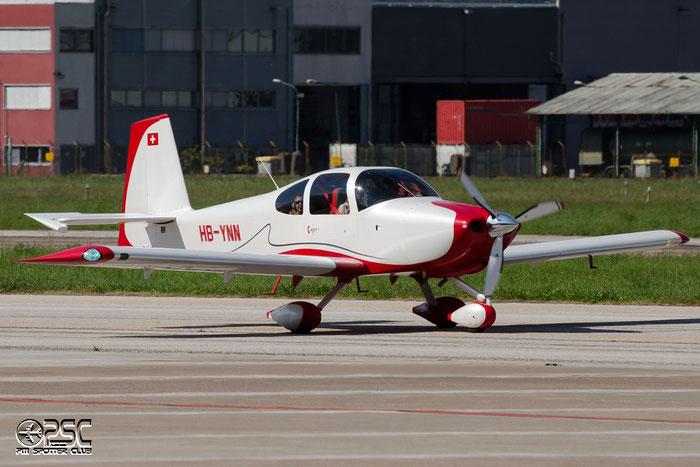 HB-YNN - Van's RV-10 @ Aeroporto di Bolzano © Piti Spotter Club Verona