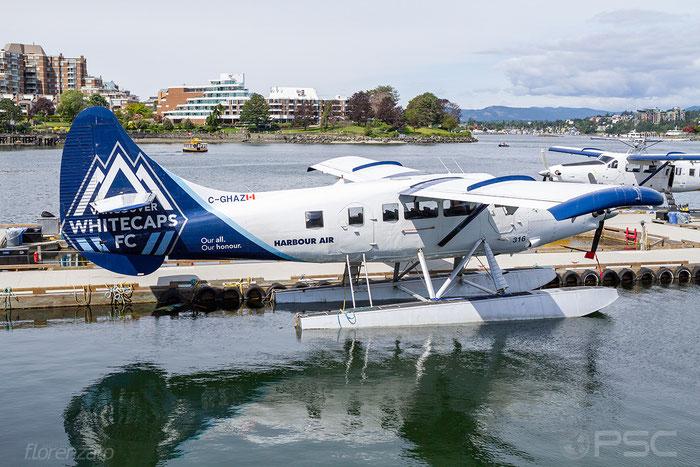 C-GHAZ Harbour Air De Havilland Canada DHC-3 Turbine Otter, @ Kenmore Air Harbour Seattle 05.2018 © Piti Spotter Club Verona