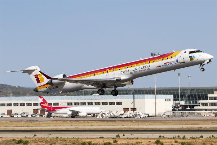 EC-JTS CRJ900ER 15071 Air Nostrum @ Palma de Mallorca Airport 07.2014 © Piti Spotter Club Verona