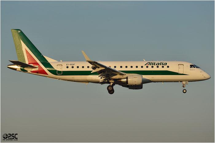 EI-RDF ERJ175STD 17000337 Alitalia CityLiner @ Bologna Airport 06.12.2013 © Piti Spotter Club Verona