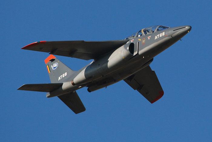 AT28   Alpha Jet 1B+  B28/1131  Beauvechain  © Piti Spotter Club Verona