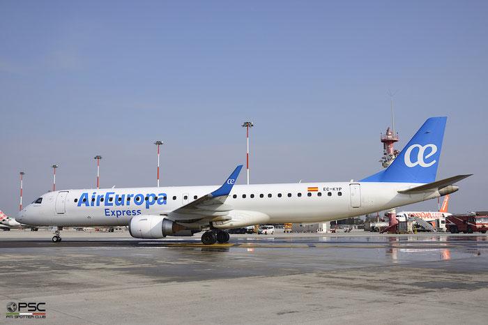 EC-KYP ERJ195LR 19000281 Air Europa Express @ Venezia Airport 25.03.2018 © Piti Spotter Club Verona
