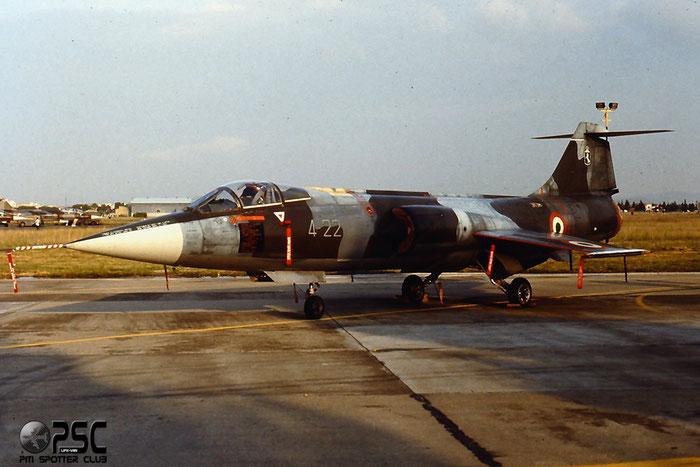 MM6831  4-22  F-104S-ASA  1131 @ Aeroporto di Verona   © Piti Spotter Club Verona