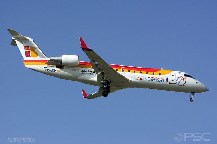EC-JNX CRJ200LR 8058 Iberia Regional @ Malaga Airport 2006 © Piti Spotter Club Verona