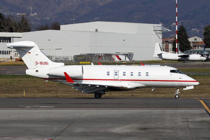 D-BUBI CL-300 20145 Windrose Air @ Bergamo Airport 18.02.2016 © Piti Spotter Club Verona