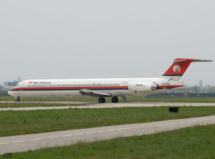 EI-CRH  MD-83  49935/1773  Meridiana  @ Aeroporto di Verona © Piti Spotter Club Verona