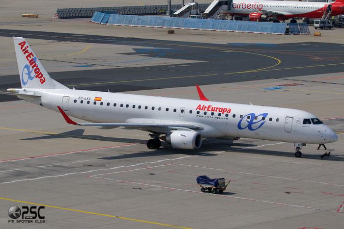 EC-LKX ERJ195LR 19000437 Air Europa @ Frankfurt Airport 25.07.2014 © Piti Spotter Club Verona