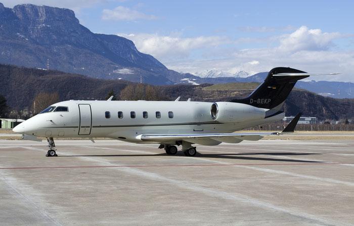 D-BEKP CL-300 20275 Windrose Air @ Aeroporto di Bolzano © Piti Spotter Club Verona