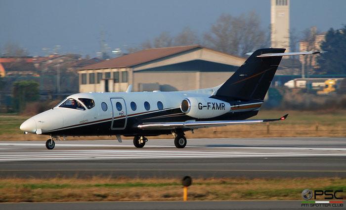 G-FXMR Beech 400XT RK-327 Flexjet Ltd. @ Aeroporto di Verona 12.2019  © Piti Spotter Club Verona