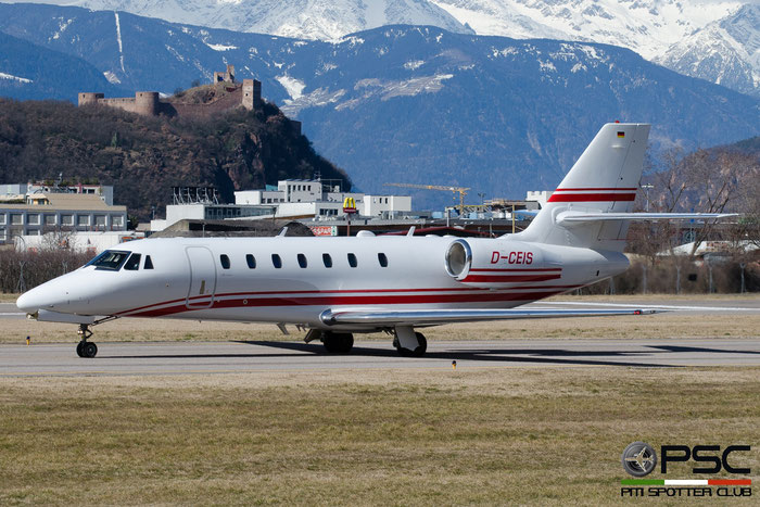 D-CEIS Ce680 680-0185 E-Aviation @ Aeroporto di Bolzano © Piti Spotter Club Verona