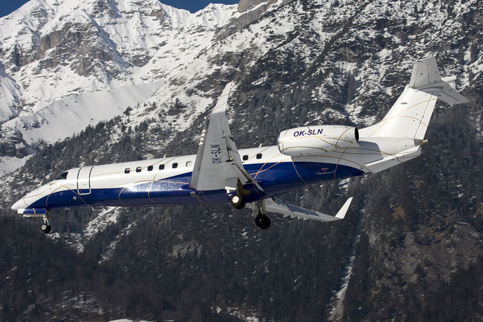 OK-SLN ERJ135BJ 145796 ABS Jets @ Innsbruck Airport 26.01.2013 © Piti Spotter Club Verona