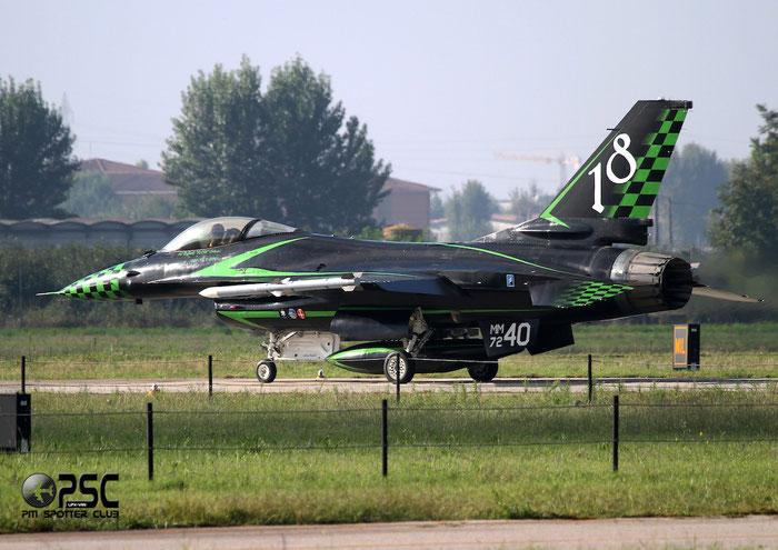 MM7240   F-16A-15-CF ADF  M22-5/61-403  Trapani-Birgi   @ Aeroporto di Verona   © Piti Spotter Club Verona