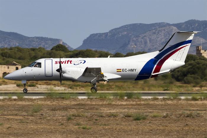 EC-HMY EMB120ER/F 120009 Swiftair @ Palma de Mallorca Airport 07.2014 © Piti Spotter Club Verona